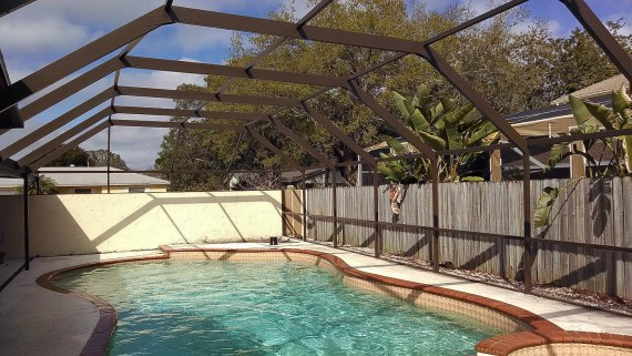 Bringing New Life To A Pool Enclosure In Lake Worth