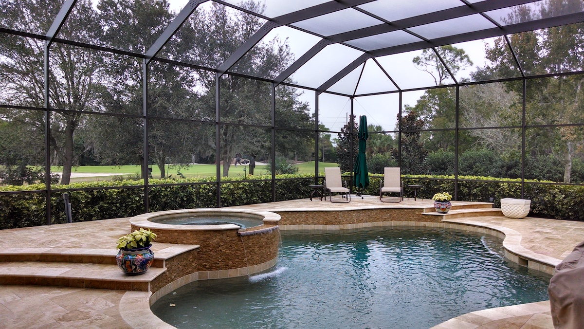 Pool Screen Enclosure Painters Pool Cage Painting